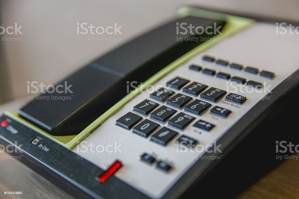 Telephone keypad stock photo