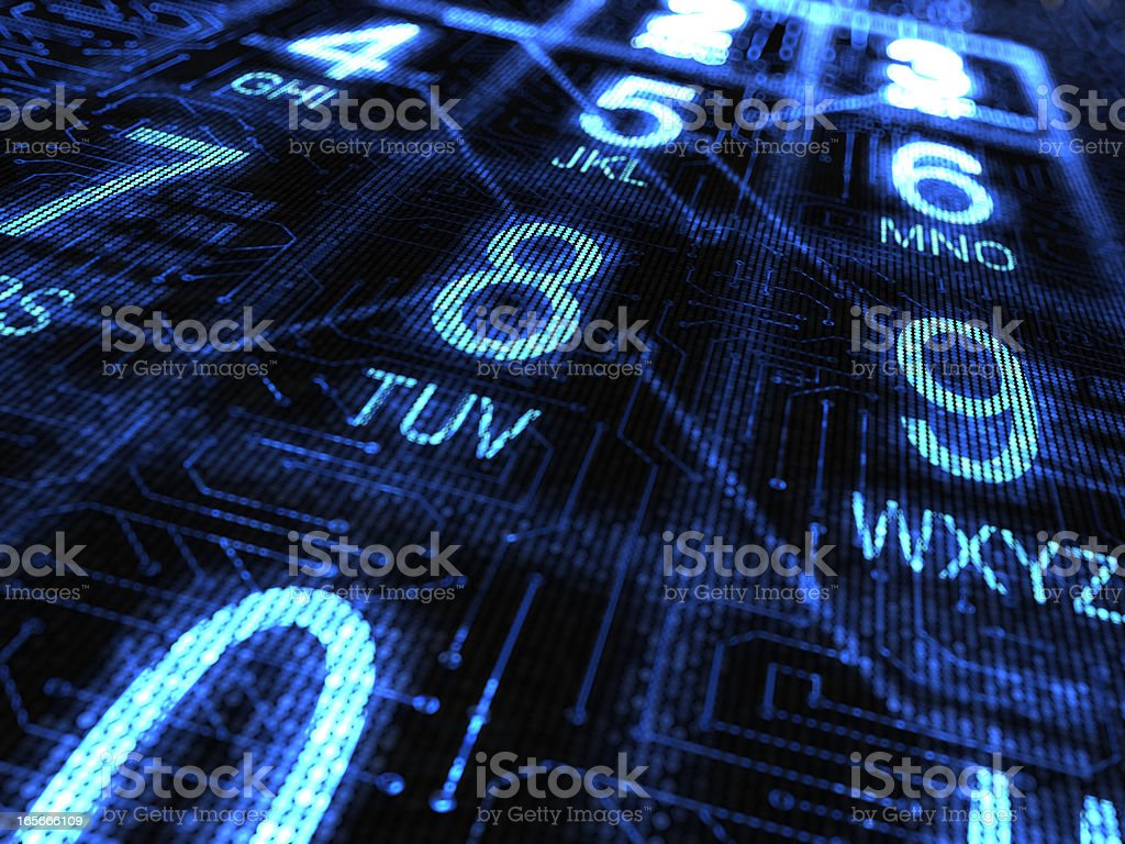 Telephone numbers background royalty-free stock photo