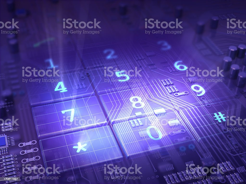 Telephone Numbers royalty-free stock photo