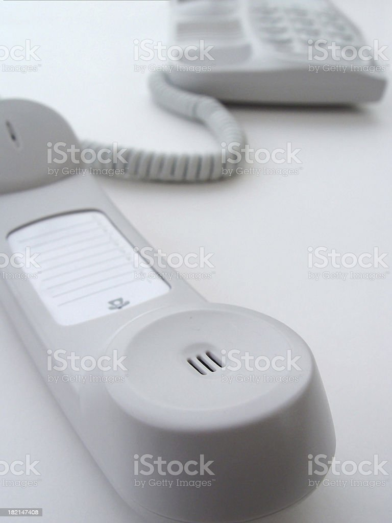 Telephone - On Hold royalty-free stock photo