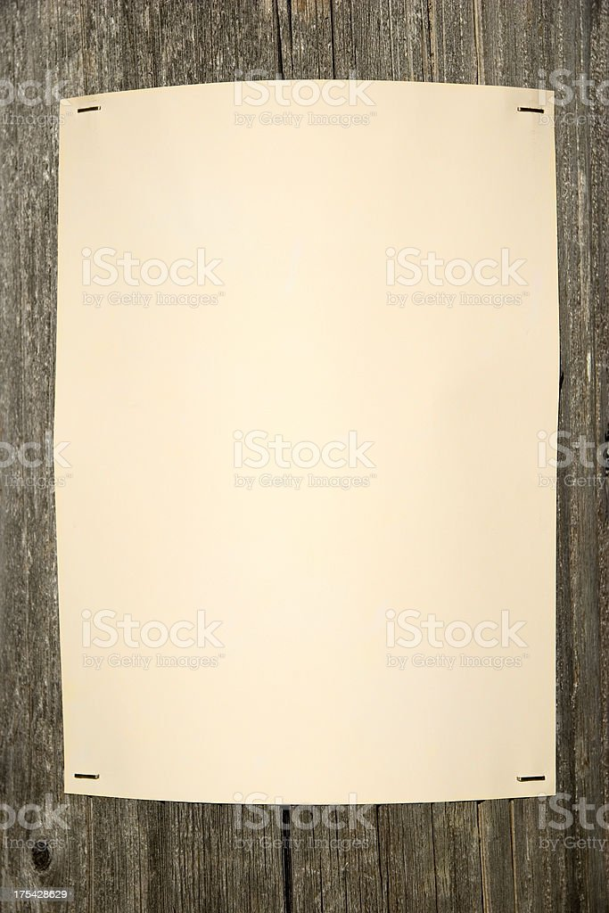 Telephone Pole Poster royalty-free stock photo