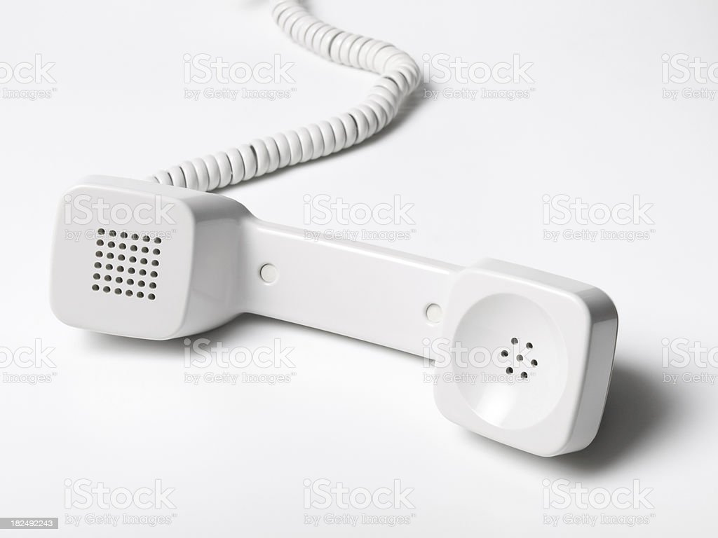 Telephone Receiver royalty-free stock photo