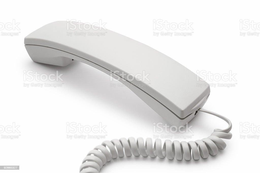 telephone receiver royalty-free stock photo
