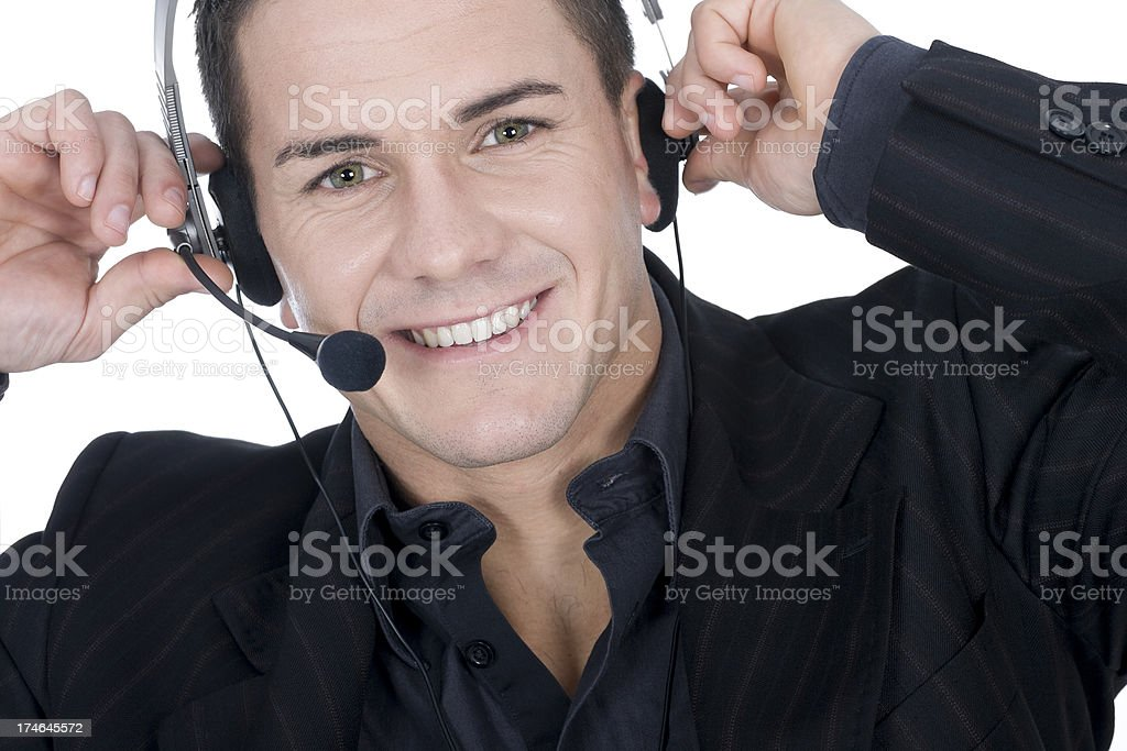 telephone service royalty-free stock photo
