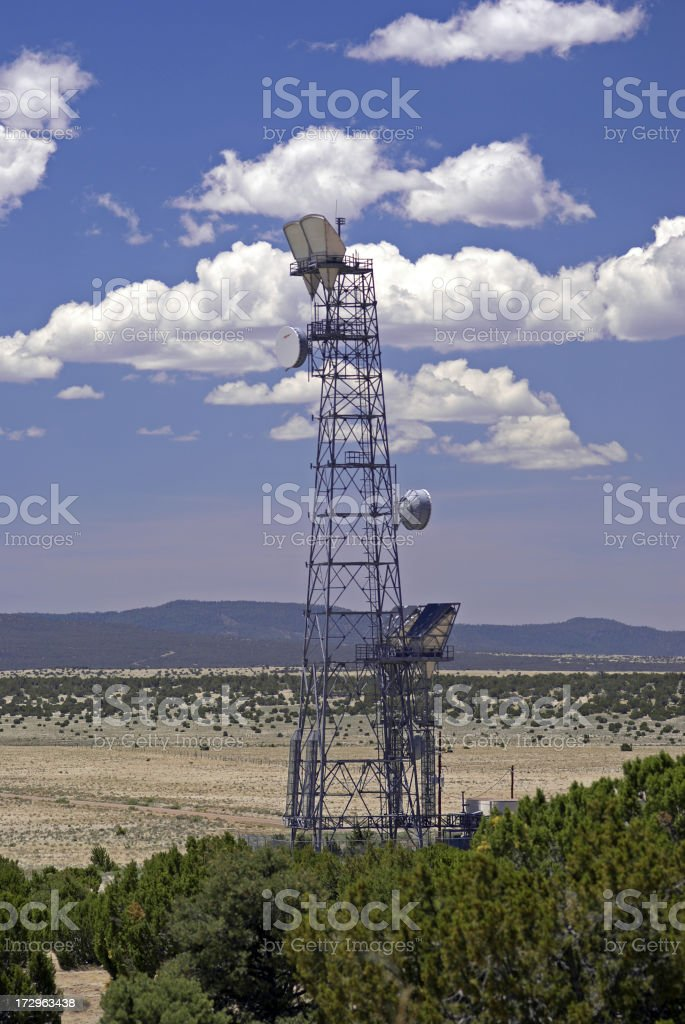 Telephone Tower royalty-free stock photo