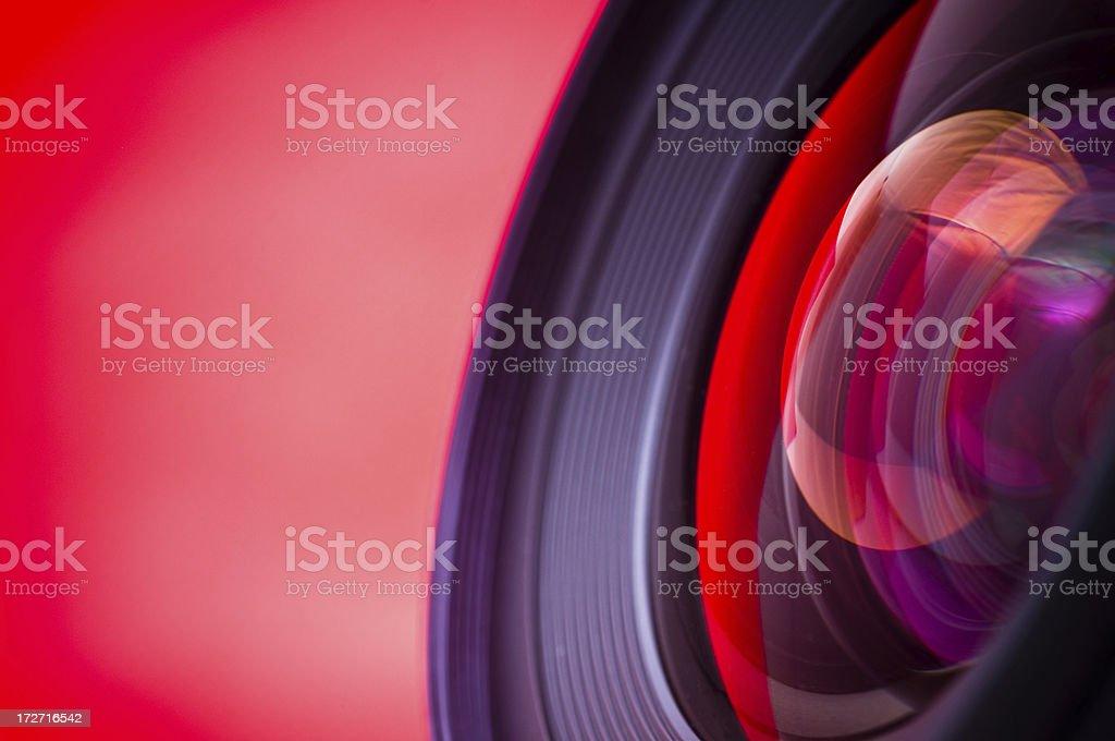 Telephoto Camera Lens royalty-free stock photo