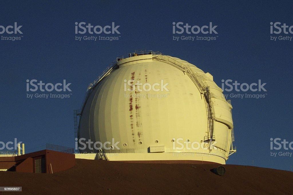 Telescope on Mauna Kea royalty-free stock photo