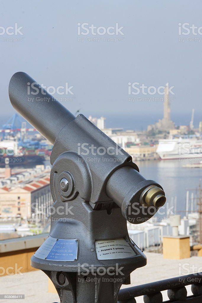 telescope payment royalty-free stock photo
