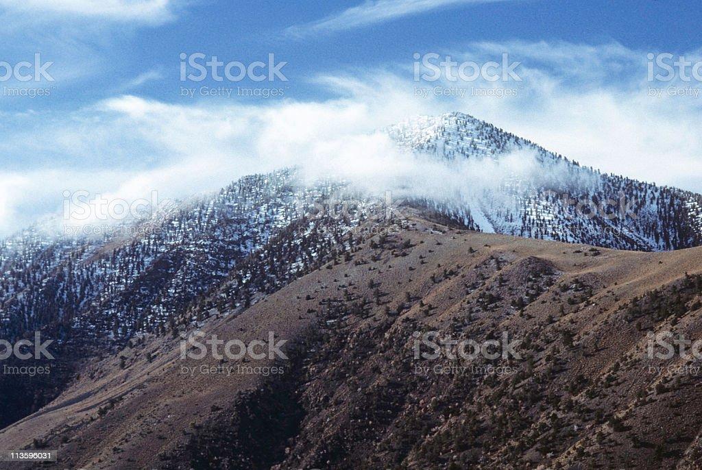 Telescope Peak stock photo