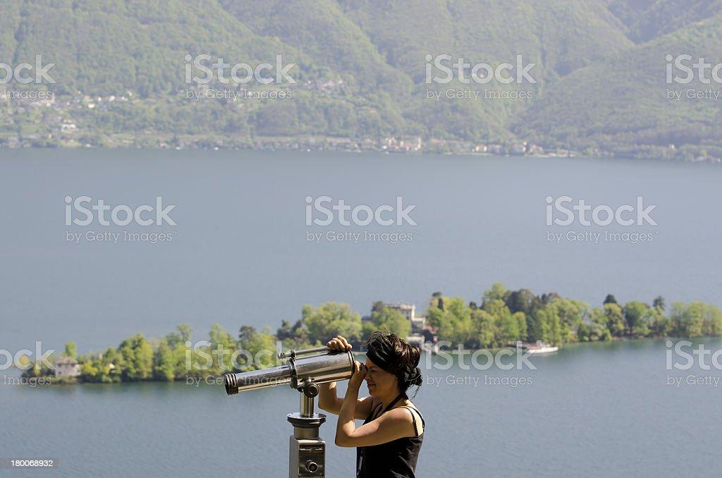 Telescope royalty-free stock photo