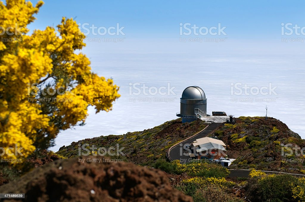 Telescope royalty-free stock photo