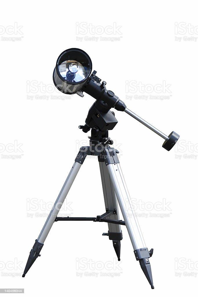 Telescope-reflector royalty-free stock photo
