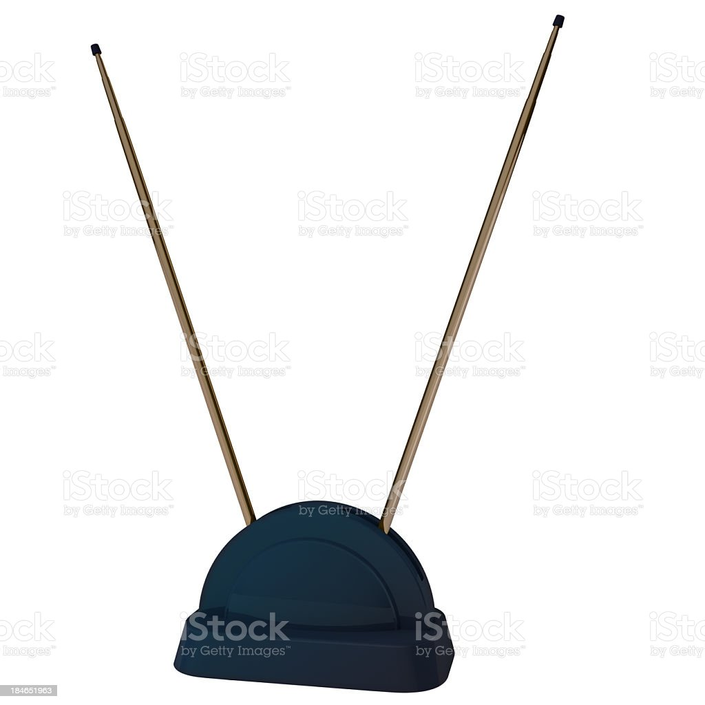 Television Antenna stock photo