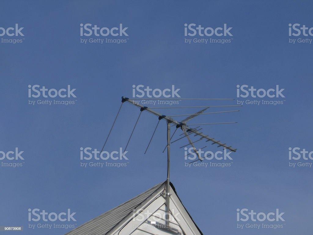 Television Antenna royalty-free stock photo