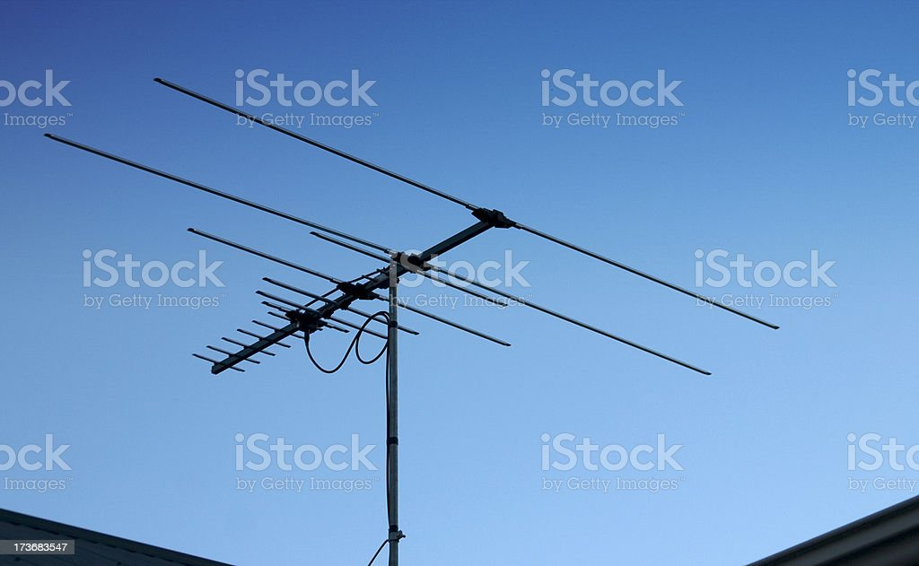 Television Antennae royalty-free stock photo