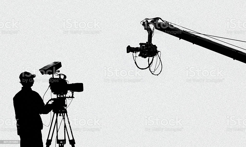 television broadcasting stock photo