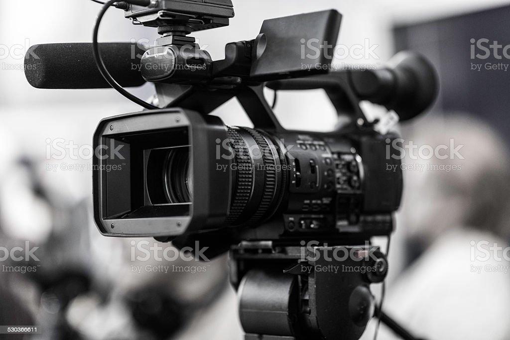 Television Camera stock photo