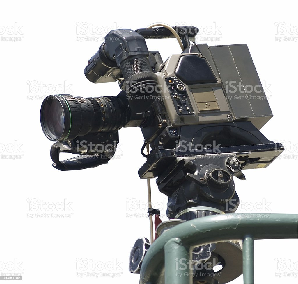 Television Camera royalty-free stock photo