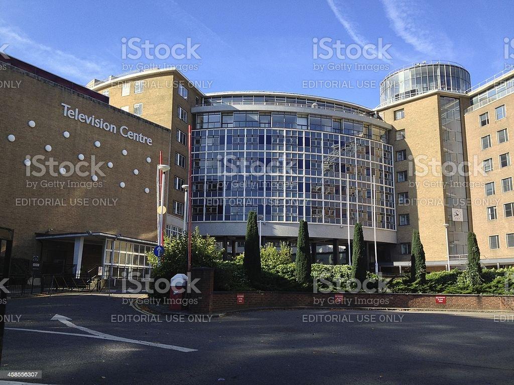 BBC Television Centre royalty-free stock photo