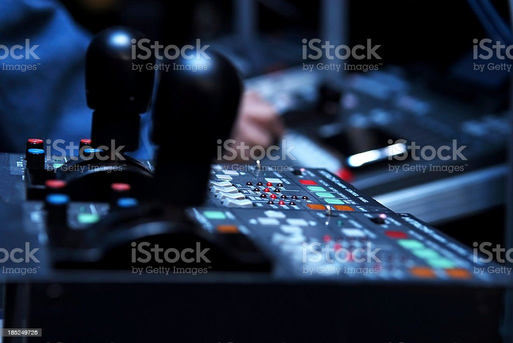 Television equipment royalty-free stock photo