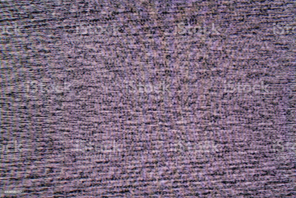 television noise, creative abstract design background photo stock photo