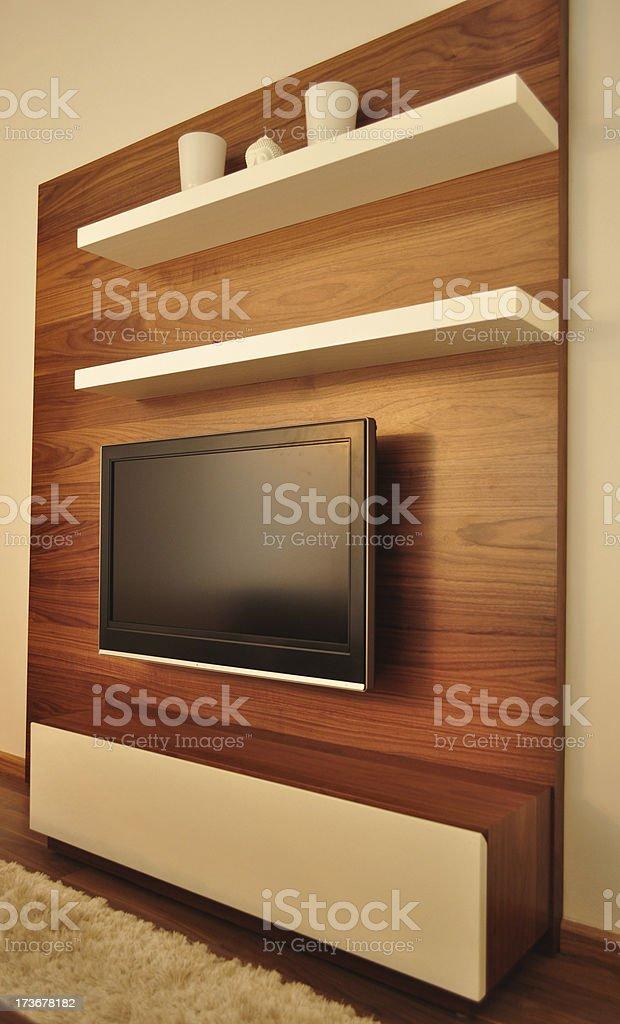 LCD television royalty-free stock photo