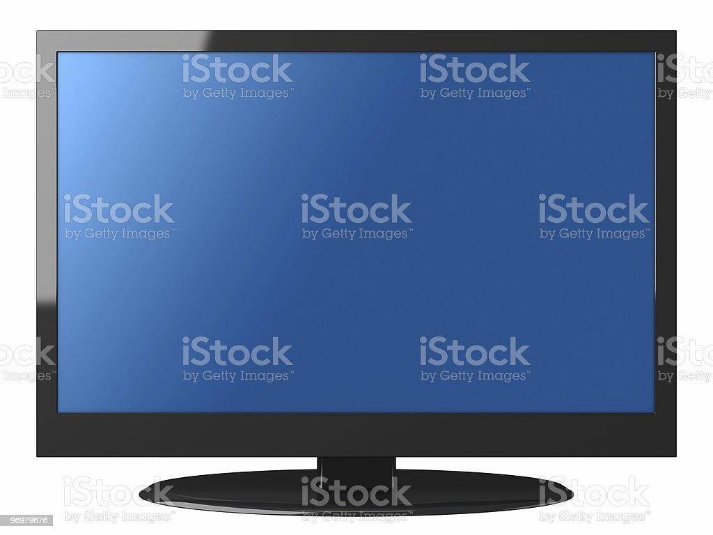 LCD Television stock photo