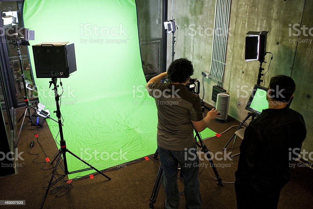 Television Production stock photo