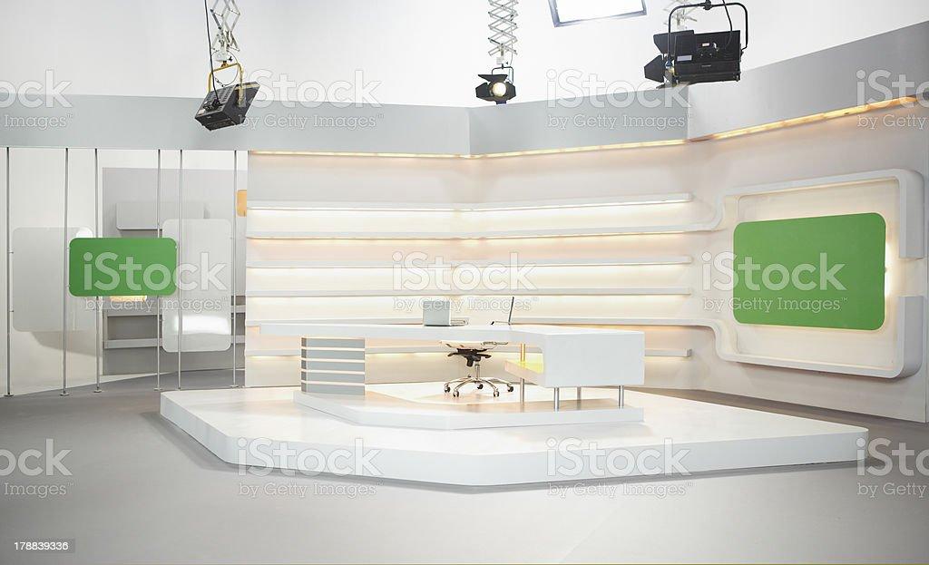 Television set stock photo