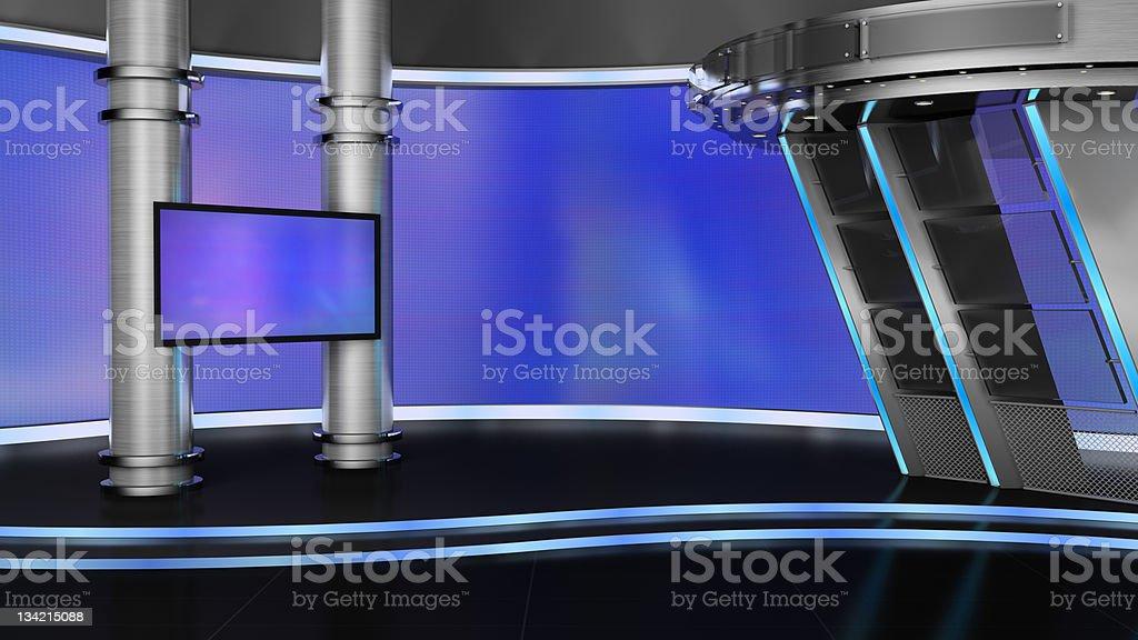 television studio royalty-free stock photo