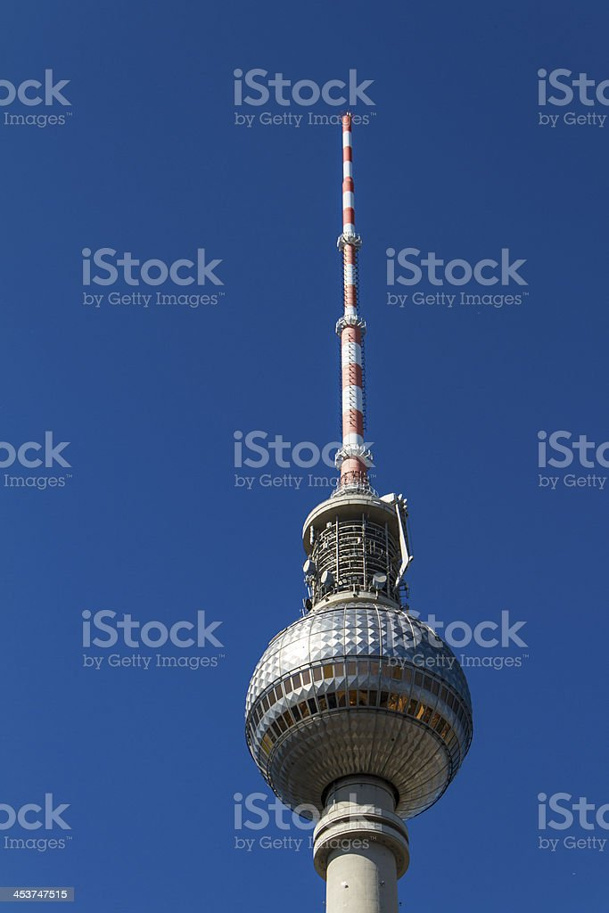 television tower in berlin mitte stock photo