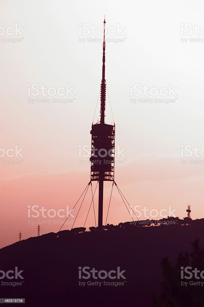 Fernsehturm stock photo