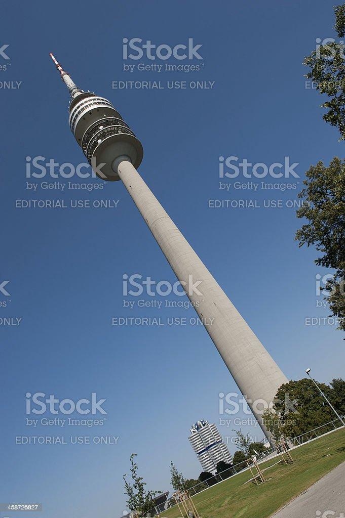 Television Tower Stuttgart stock photo