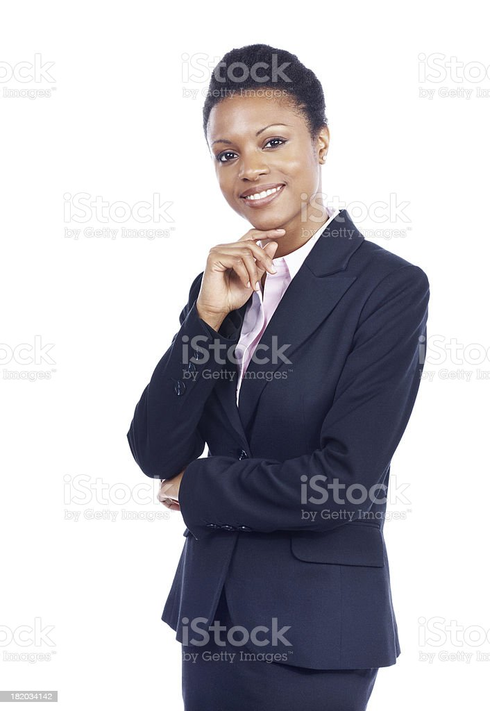 Tell me about yourself royalty-free stock photo