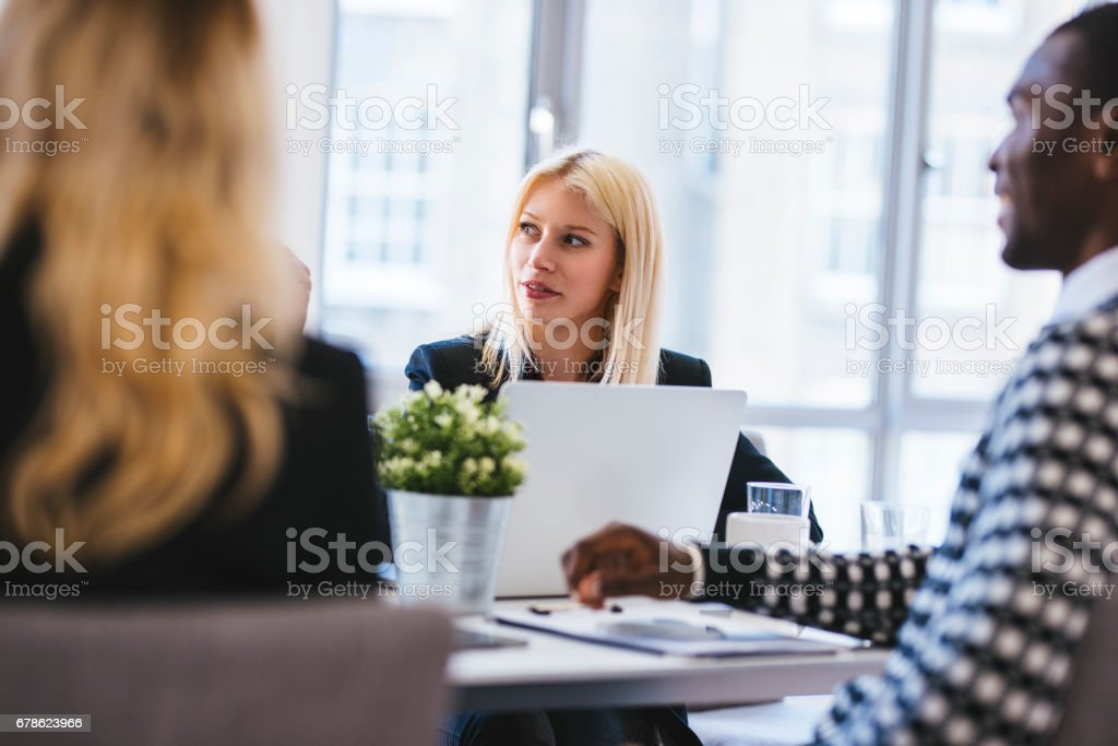 Tell me more about your new project stock photo