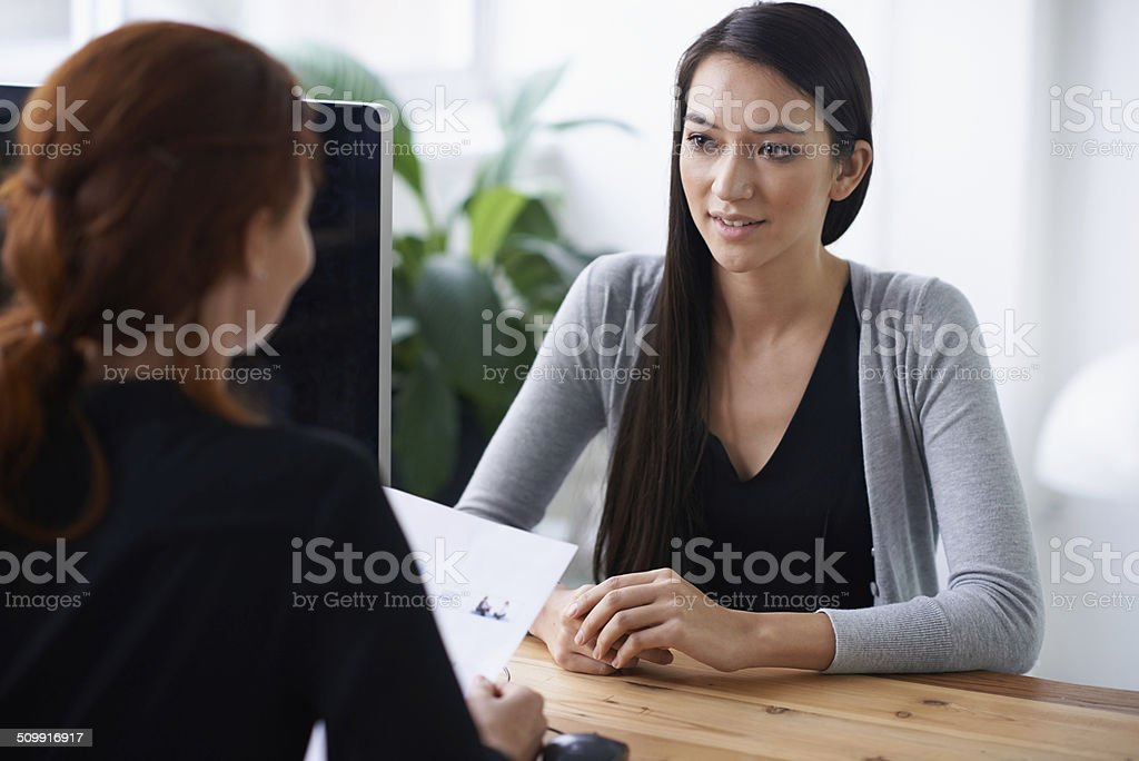 Tell me something about yourself that's not in your resume stock photo