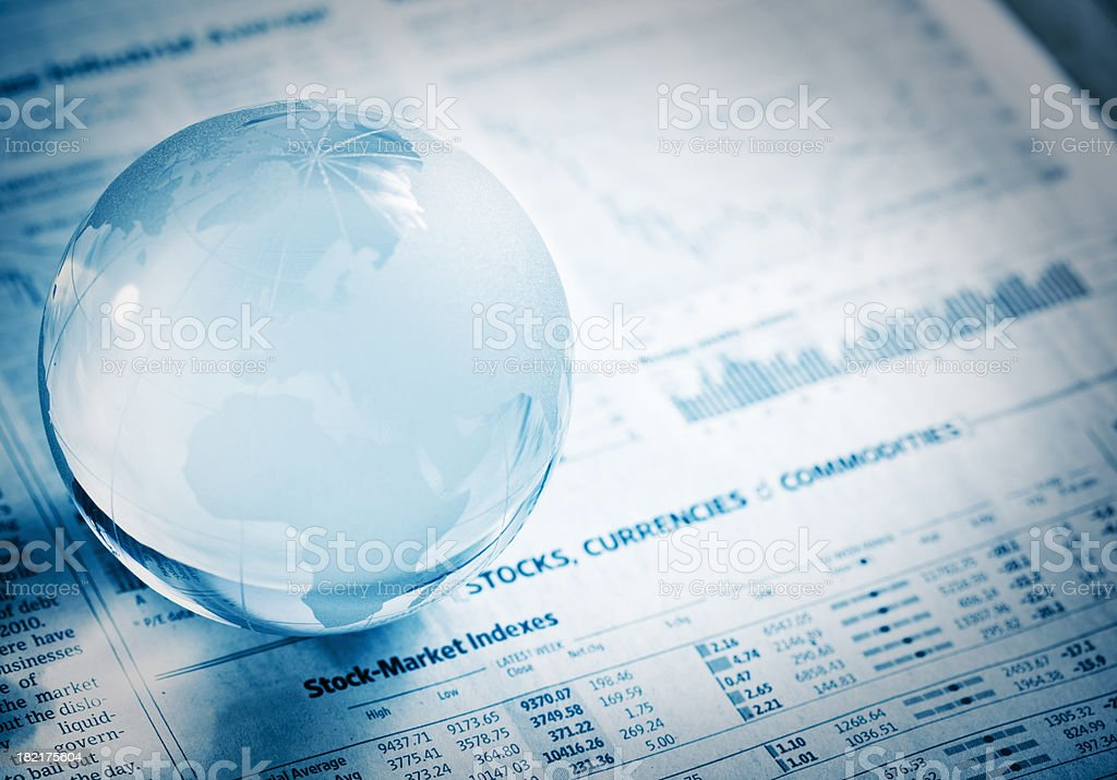 tell the your financial future stock photo