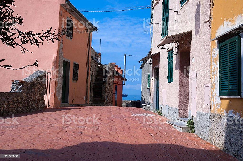 Tellaro - Golfo dei Poeti - Liguria Italy stock photo