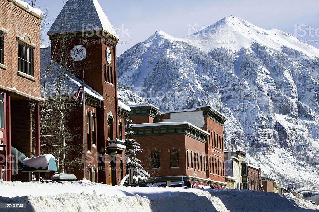 Telluride Colorado royalty-free stock photo