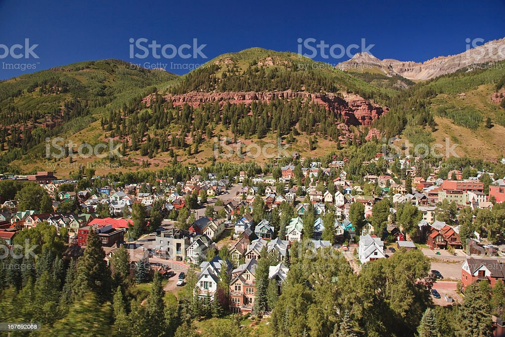 Telluride village royalty-free stock photo