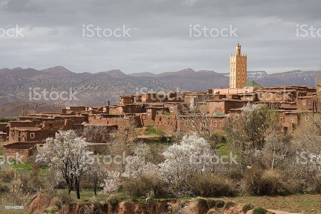Telouet village royalty-free stock photo