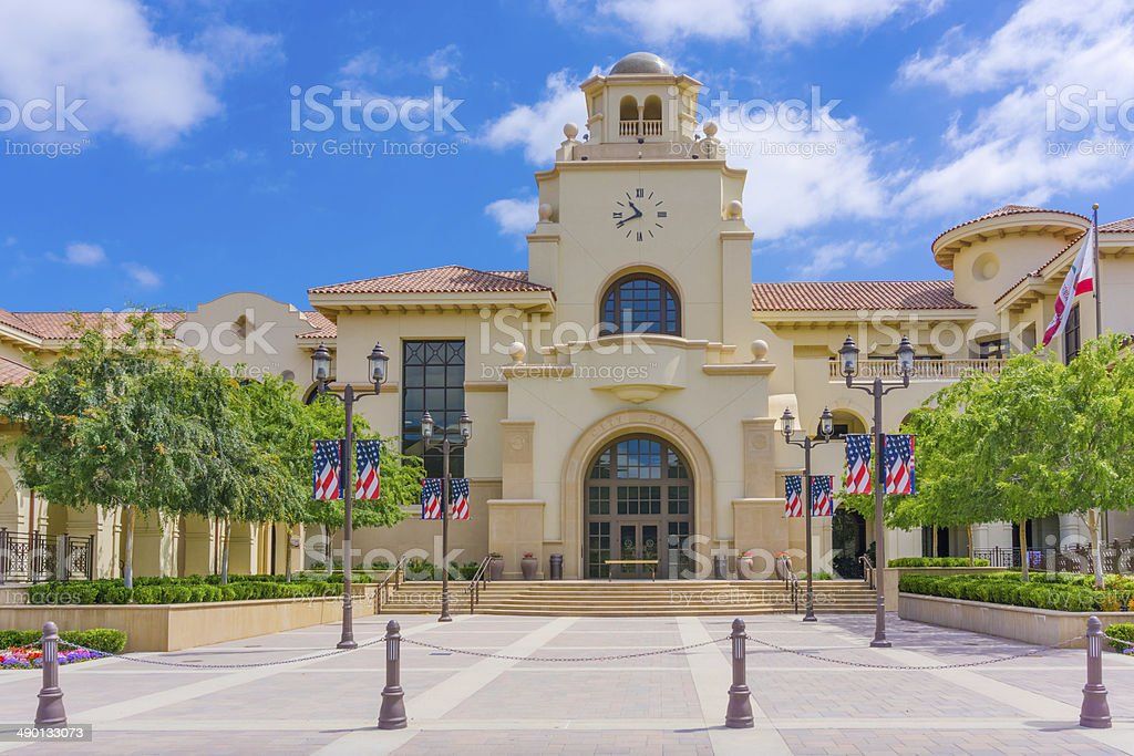 Temecula City Hall, CA stock photo