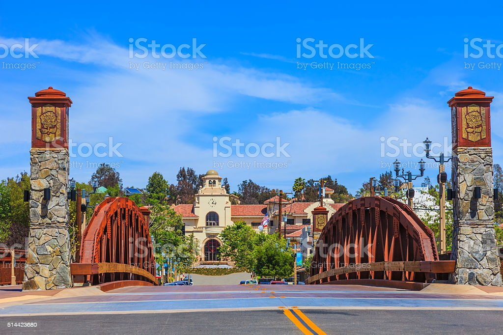 Temecula City Hall in the Wine Country, CA stock photo