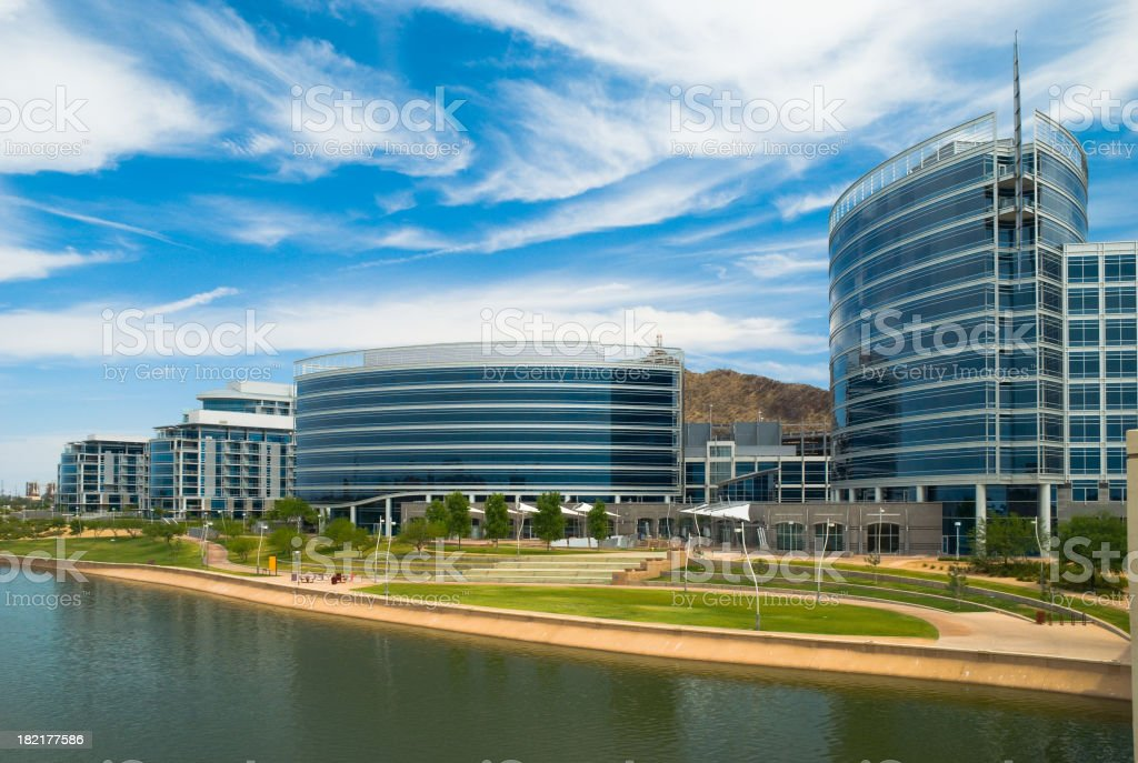 Tempe Downtown royalty-free stock photo
