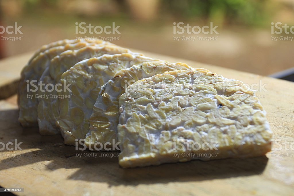 Tempeh stock photo