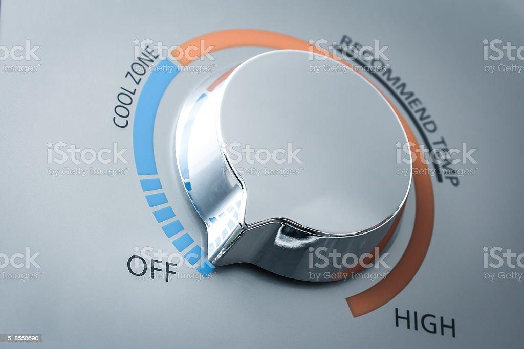 temperature adjuster stock photo
