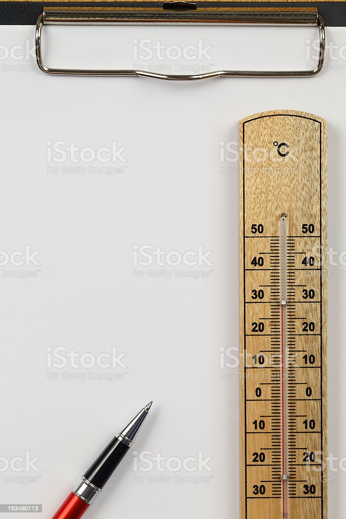 temperature measurement royalty-free stock photo