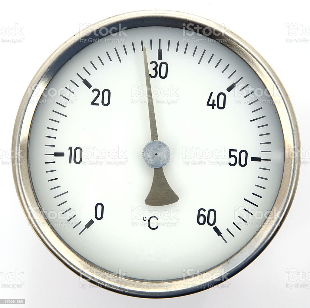 temperature royalty-free stock photo