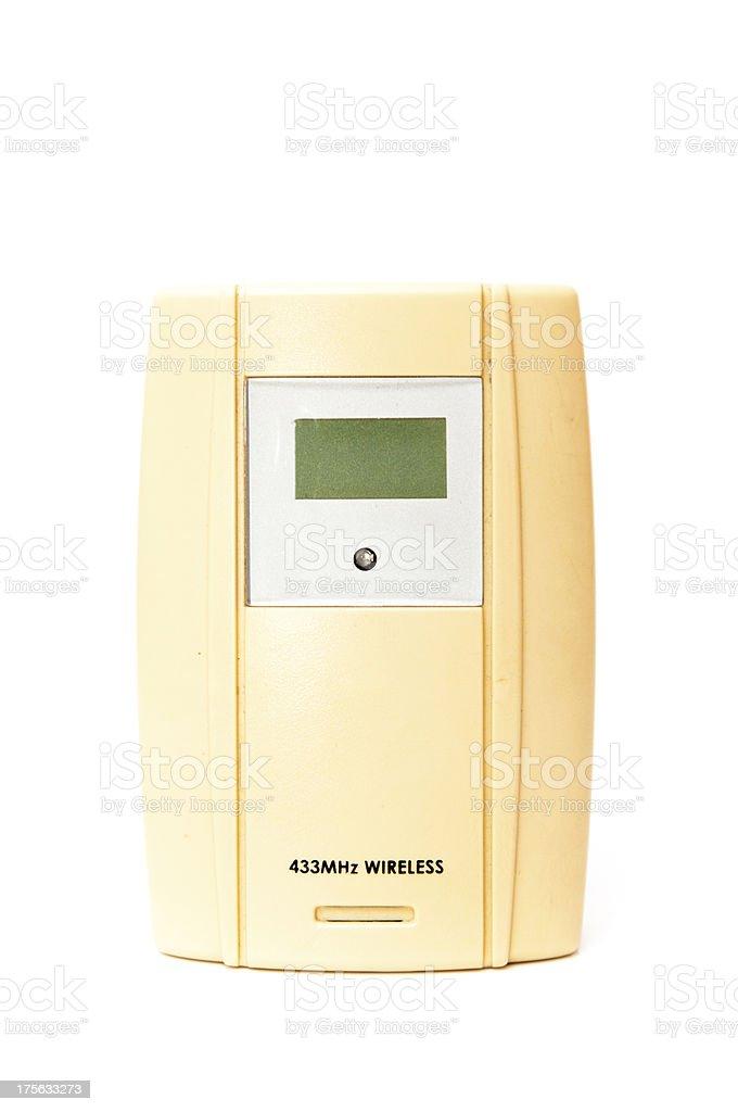 temperature sensor royalty-free stock photo