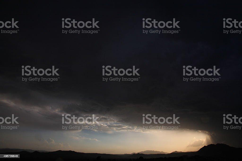 Tempest stock photo